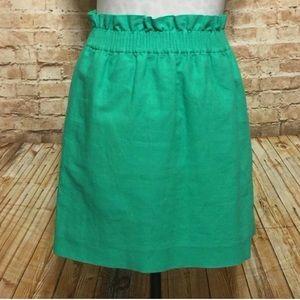 J. Crew Sidewalk Linen Skirt